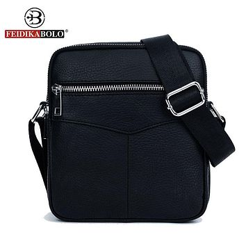 Men Shoulder Bags Messenger Sling Bag Genuine Leather Bag Man Satchels Handbags Designer Men Cross body Bags