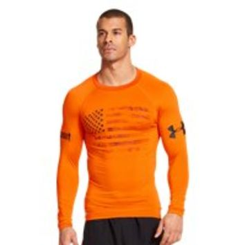 Under Armour Men's UA Tough Mudder Flag Compression Long Sleeve