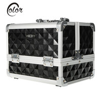 Abody Aluminum Lockable Makeup Case with Mirror