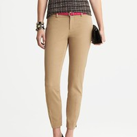 Banana Republic Sloan Fit Slim Ankle Pant Size 0 Petite - Mojave beige