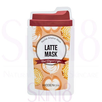 HIDDENcos Latte Revital Amplue Mask
