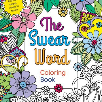 The Swear Word Coloring Book CLR CSM