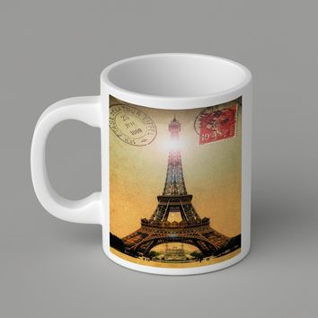 Gift Mugs | Eiffel Tower Ceramic Coffee Mugs
