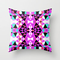 Mix #543 Throw Pillow by Ornaart
