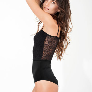 Women's Lace Bodysuit - Women's Lace Leotard - Sexy Bodysuit - Lace Lingerie - Sexy Lingerie - One Piece Lingerie - Intimates