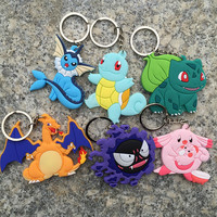 Pokemon Figures Keychains