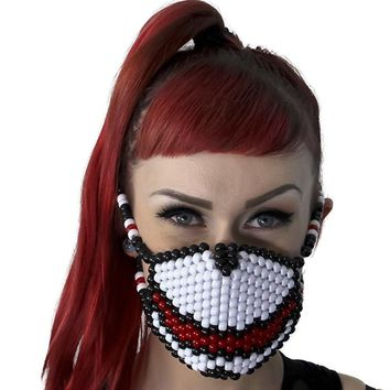 Feed Me Red Surgical Kandi Mask