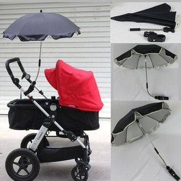 DCCKL3Z Umbrella strollers Nylon sun canopy UV 360 Degrees Adjustable Direction Stroller Baby bike Accessories