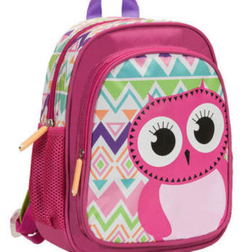 Rockland Kids Backpack Owl School Bag