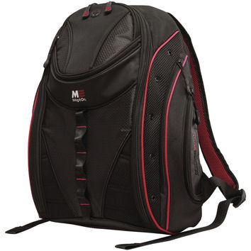 """Mobile Edge 16"""" Pc And 17"""" Macbook Express 2.0 Backpack Red"""