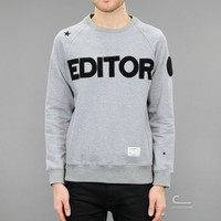The Editor The Editor Sweatshirt | Caliroots - The Californian Twist of Lifestyle and Culture