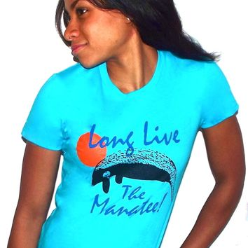 Long live the manatee t-shirt helps save manatees
