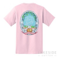 Sip Sweetly Tee in Pink | Lakeside Cotton