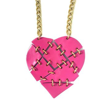 Shattered Heart Necklace