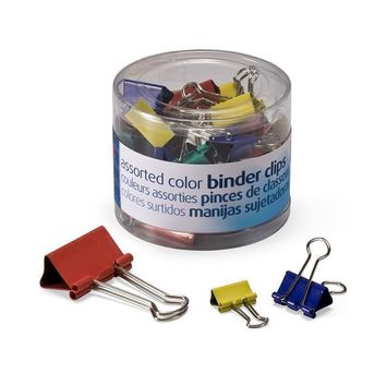 Officemate Assorted Binder Clips