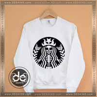 Sweatshirt Pastel Goth Starbucks Coffee Sweatshirt Womens And Mens