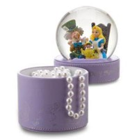 Merry Unbirthday Alice in Wonderland Snowglobe Gift Box