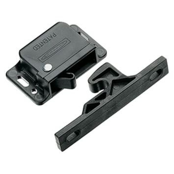 Southco Grabber Catch Latch - Side Mount - Black - Pull-Up Force 13N (3lbf)