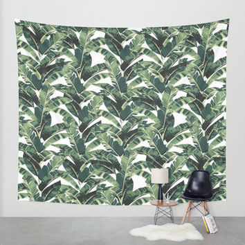 BANANA LEAF Wall Tapestry by Bows & Arrows