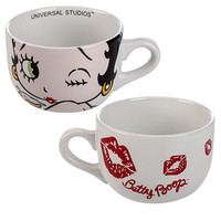 Universal Studios Betty Boop Ceramic Jumbo Latte Mug New