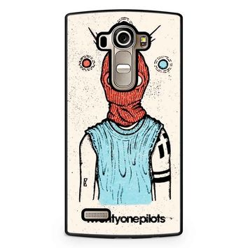 Twenty One Pilots Poster Art LG G4 Case