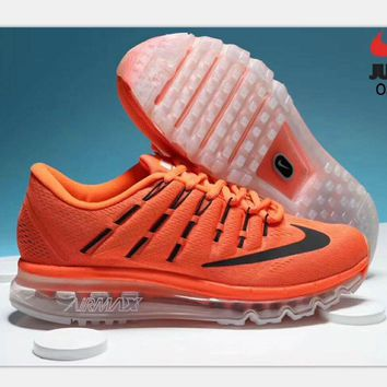 """NIKE"" AirMax Trending Fashion Casual Sports Shoes red H-PSXY"