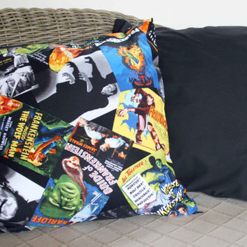 Horror Movie Poster Cushion - 18""