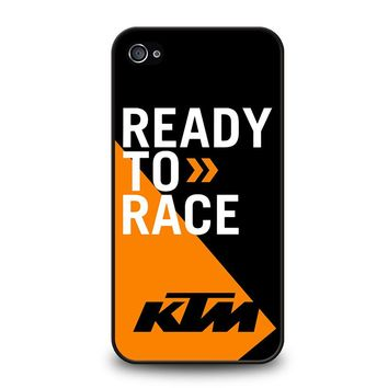 KTM READY TO RACE iPhone 4 / 4S Case Cover