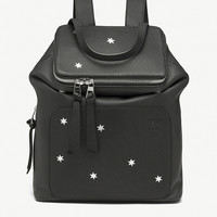 LOEWE Goya Stars small leather backpack