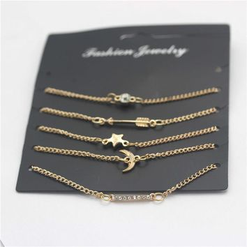 Shiny Great Deal Awesome Gift New Arrival Korean Accessory Stylish Simple Design Beach Set Hot Sale Bracelet [1292354256963]