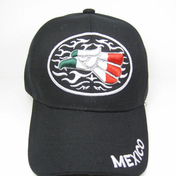 Mexico Cap In Black