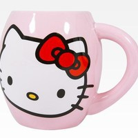 Hello Kitty Large Ceramic Mug: Face