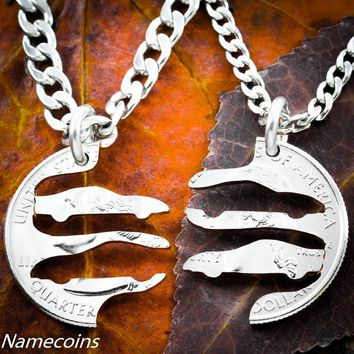 Race Car couples necklace, Nascar Racing by Namecoins