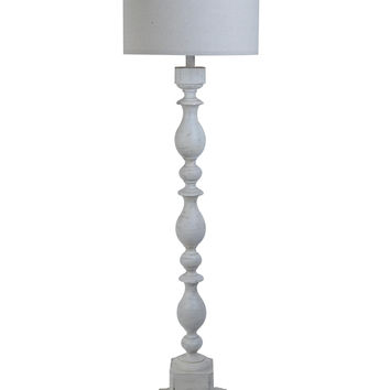 Crestview Wood Post Floor Lamp - CVAUP960