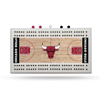 Chicago Bulls NBA Cribbage Board