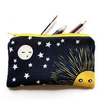 Moon pencil case