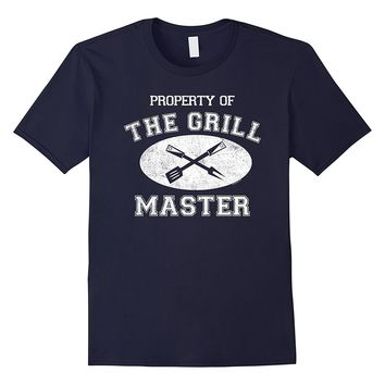 Property Of The Grill Master Funny T-Shirt For BBQ Chefs