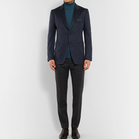 TOM FORD - Blue O'Connor Slim-Fit Unstructured Cashmere Blazer