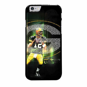 green bay packers aaron rodgers iphone 6 plus 6s plus 4 4s 5 5s 5c cases