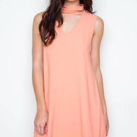 Eleanor Swing Dress - Blush