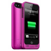 mophie Helium Mobile Phone Battery Charger for iPhone 5 - Pink (40861TGW)