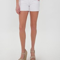 Miss Me Metallic Stretch Short