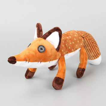 "16"" 40 CM Movie Le Petit Prince The Little Prince Fox Plush Doll Stuffed Toys Education Toy for Baby"