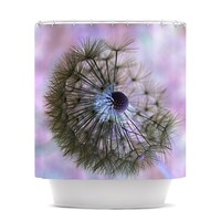 "Alison Coxon ""Dandelion Clock"" Shower Curtain"