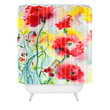 Ginette Fine Art If Poppies Could Only Speak Shower Curtain