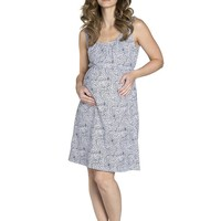 Harper Maternity & Nursing Sleeveless Nightgown