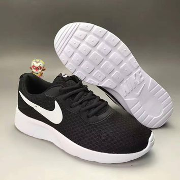 """NIKE"" Fashion Casual Stitching Breathable Net Unisex Ultra-light Sneakers Couple Runn"