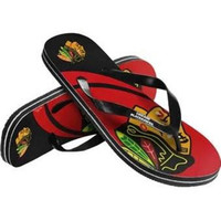 2015 Unisex Big Logo Flip Flop - NHL Chicago Blackhawks