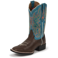 Women's Tony Lama Chocolate Darby Cowgirl Boots