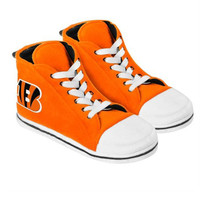 Cincinnati Bengals Men's Official NFL Puffy Sneaker Slipper